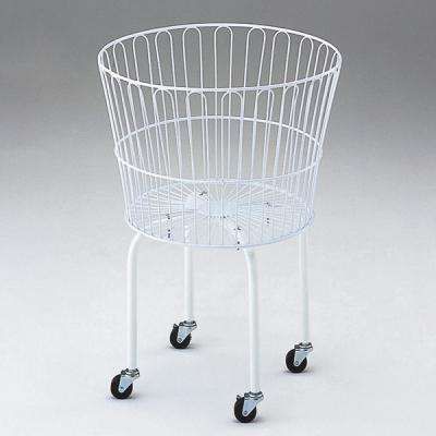 円形バスケットワゴン