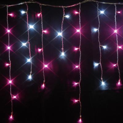 新LEDつららライト ホワイト+ピンク MIX