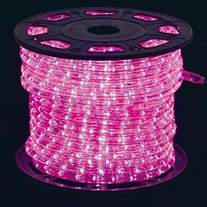 360°発光ロープライト ピンク