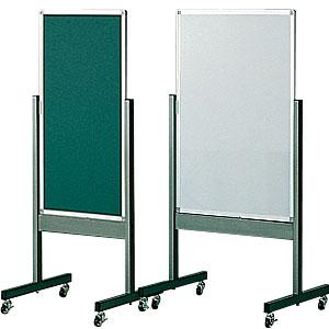 両面案内板 スチールグリーン W450×H900